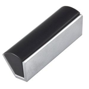 poignee mat chrome metacrylate noir meuble dessin 0018032v1102
