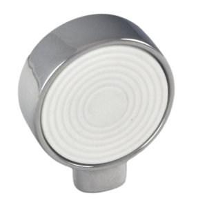 pomos cromo brillo y goma blanco target mueble 0049025v01g1