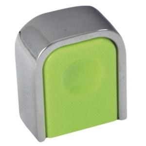 pomos cromo brillo y metacrilato lima dimple mueble 0051026v0103