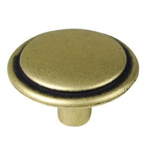 bouton vieux cuir porte meuble classique n578