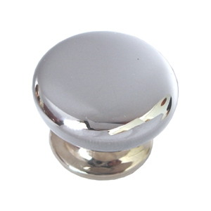 tirador pomo de mueble metal zamak acabado cromo brillo para cocina o bano 05301