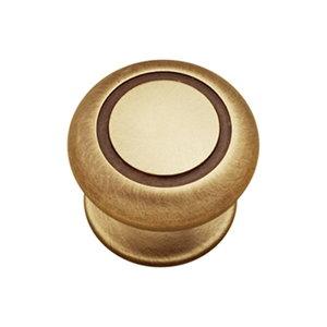 tirador pomo de mueble metal zamak acabado cuero cepillado para cocina o bano 06715