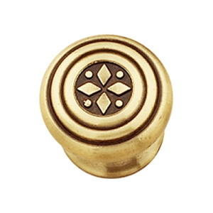 bouton de meuble feodal laiton 09706