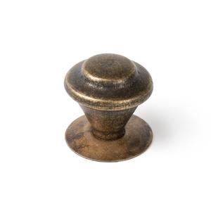 pomo mueble rustico 32mm laton envejecido bouton 32mm vieux laiton meuble rustique