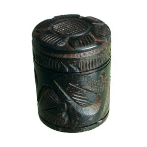 tiradores pomos etnico madera acabado ebano mueble rustico colonial 143a1