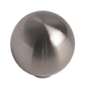 brush nickel furniture handle knob 163 17316