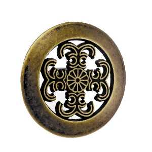 antique bronze furniture knob 37mm furniture knob 214718