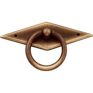 tiradores anilla metal bronce cajon mueble clasico 543 2349c