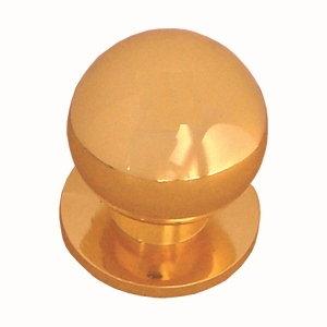pomos bola dorado mueble 24503