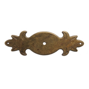 antique bronze plate rustic furniture handle 2730c