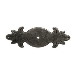 poignee base bouton fer vielli meuble classique rustique 2730p