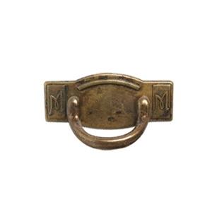 tiradores asa con placa metal bronce cajon mueble clasico 576 2772c