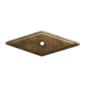 poignee plaque bronze vieilli meuble classique rustique 446 2813c