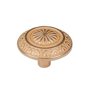 tirador pomo de oro inca cajon mueble clasico poignee bouton or inca tiroir meuble classique