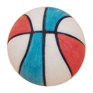 pomos tiradores pelota baloncesto porcelana azul roja infantiles ninos 329ar
