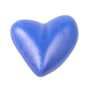 poignee bouton ceramique bleu marine 352co