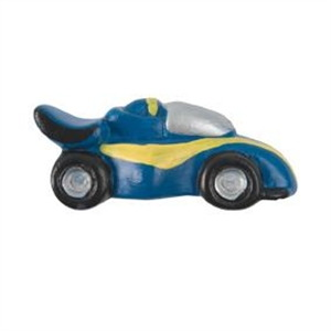 blue car matt ceramic kids children furniture handle 356az
