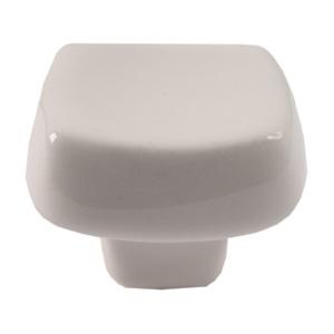 pomos tiradores cuadrado de ceramica crema marfil mate mueble 374mf