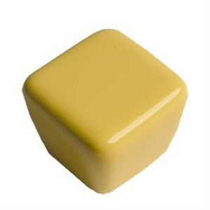 pomos tiradores cuadrado de ceramica amarilla mueble infantiles ninos 376am