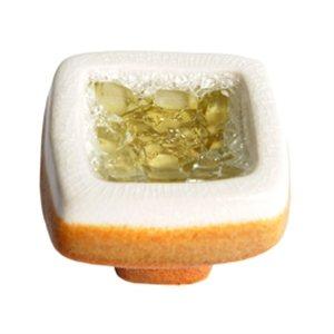 bouton ceramique amber square 377ab