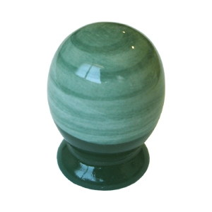 pomo tirador porcelana verde 26mm 383ve