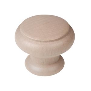 pomo cajon mueble 40mm madera tinte arena bouton meuble 40mm bois peint sable