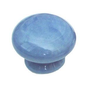 pomos tiradores porcelana azul mueble 423m1