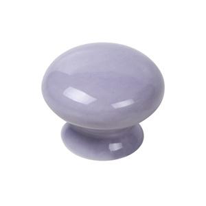 pomo seta porcelana violeta tiradore mueble ceramica artesanal 423m12