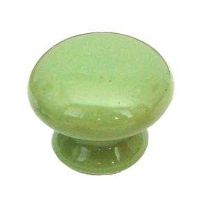 pomos tiradores porcelana verde mueble 423m3