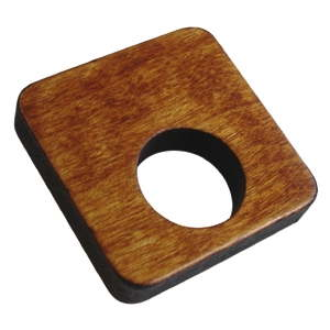 tirador pomo de mueble cuadrado calado circulo teka para armario cocina 425tk