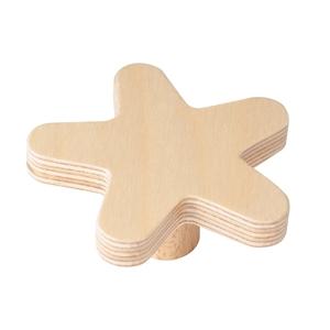 pomo mueble bebe estrella 67mm madera abedul natural bouton etoile 67mm bois de bouleau laque naturel pour meuble de bebe