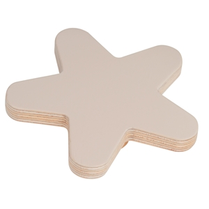 pomo mueble bebe estrella 100mm madera abedul pintura arena bouton etoile 100mm bois de bouleau laque sable pour meuble de bebe