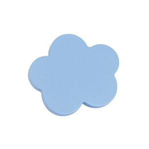 tirador pomo de mueble nube pequena madera lacada azul para comoda cajonera infantil 442az2