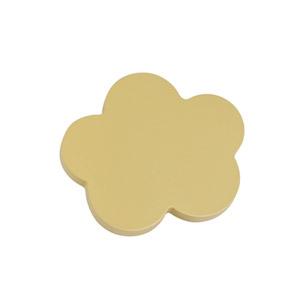 tirador pomo de mueble nube pequena madera lacada beige para comoda cajonera infantil 442be2