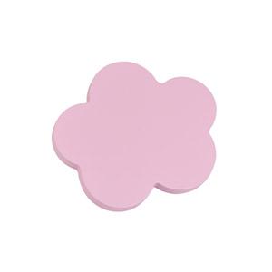 tirador pomo de mueble nube pequena madera lacada rosa para comoda cajonera infantil 442rs2