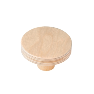 pomo mueble bebe circulo 50mm madera abedul pintura arena bouton rond 50mm bois de bouleau abedul natural pour meuble de bebe