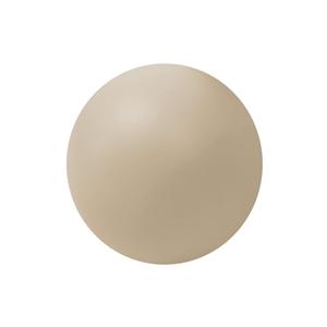 pomos tirador bola mueble bebe madera lacada beige claro o arena 50mm