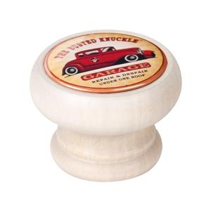 bouton meuble vintage bois blanc decape garage car 450db14