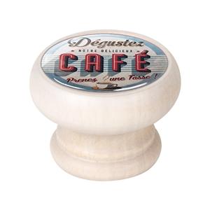 bouton meuble vintage bois blanc decape cafe 450db85