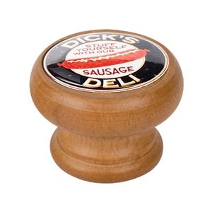 bouton meuble vintage bois couleur miel dicks 450hm12
