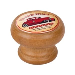 bouton meuble vintage bois couleur miel garage car 450hm14