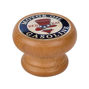 bouton meuble vintage bois couleur miel red hat 450hm15