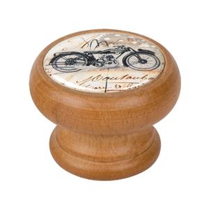 bouton meuble vintage bois couleur miel moto 1 450hm33