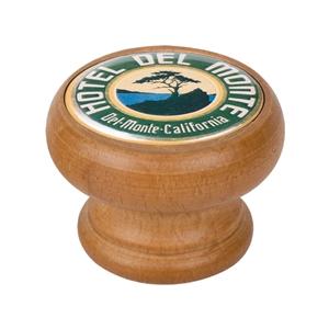 bouton meuble vintage bois couleur miel hotel del monte 450hm66