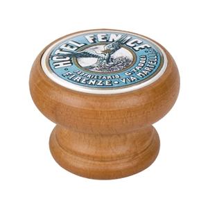 bouton meuble vintage bois couleur miel hotel le mans 450hm68