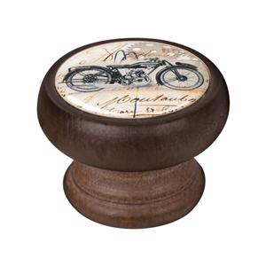 bouton meuble vintage bois couleur noyer moto 1 450ng33