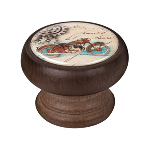 bouton meuble vintage bois couleur noyer moto 2 450ng34