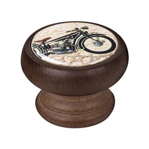 bouton meuble vintage bois couleur noyer moto 3 450ng35