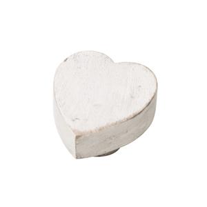 pomo madera de mango decapada blanca tiradores vintage mueble desgastado tiza 453bl