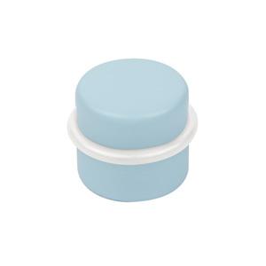 tope de puerta de madera lacada azul con adhesivo para comoda cajonera infantil 495az